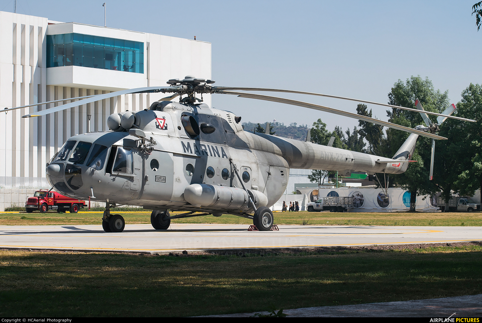 Mexico - Navy ANX-2220 aircraft at Mexico City - Licenciado Benito Juarez Intl