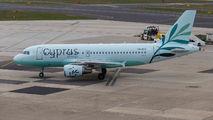 5B-DCX - Cyprus Airways Airbus A319 aircraft