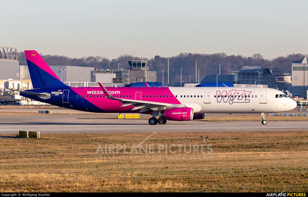 Wizz Air HA-LTH aircraft at Hamburg - Finkenwerder