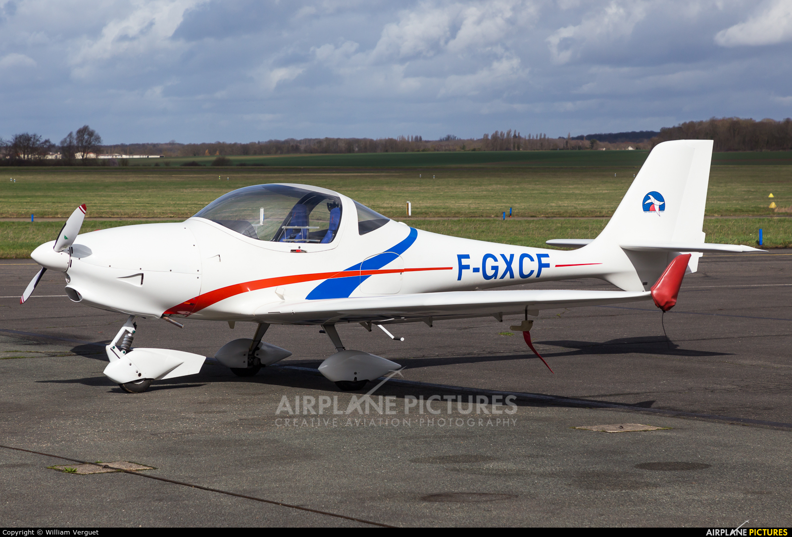 Private F-GXCF aircraft at Toussus-Le-Noble