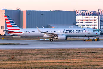 N401AN - American Airlines Airbus A321 NEO