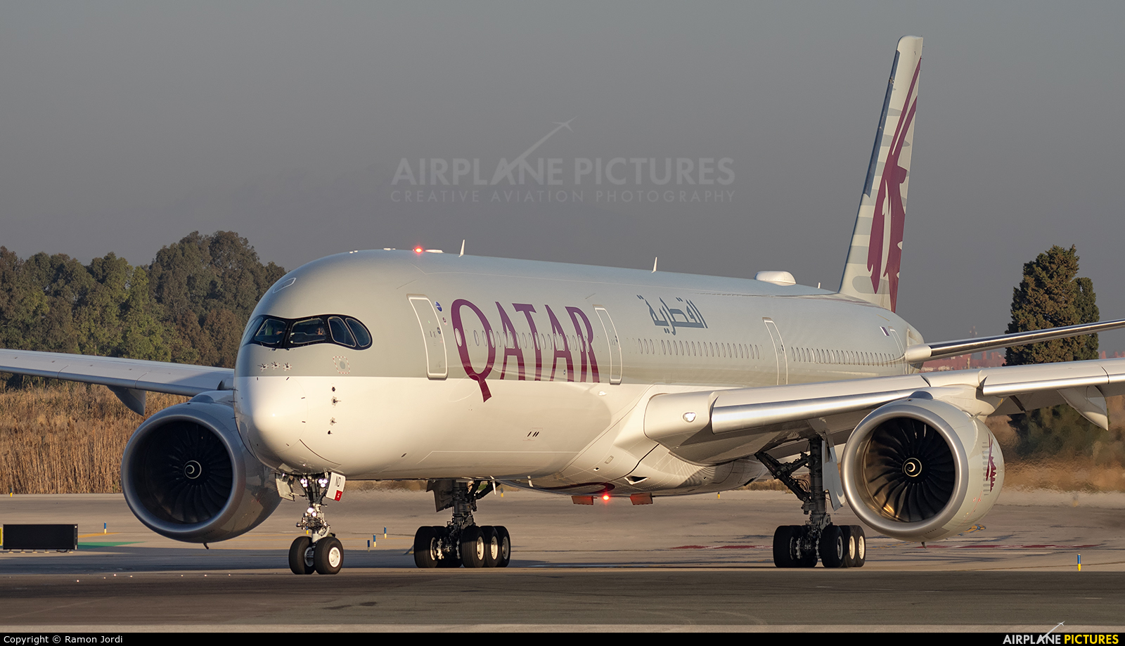 Qatar Airways A7-AND aircraft at Barcelona - El Prat