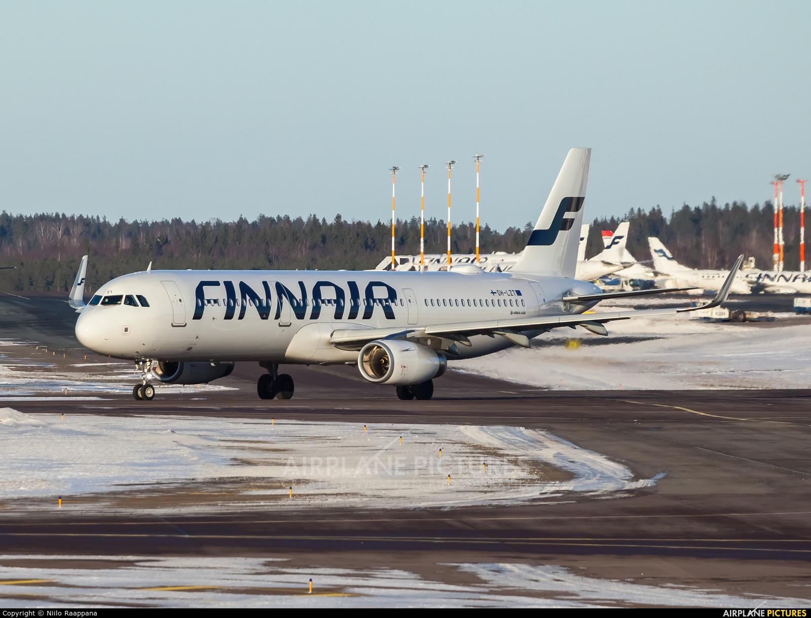 Finnair OH-LZT aircraft at Helsinki - Vantaa