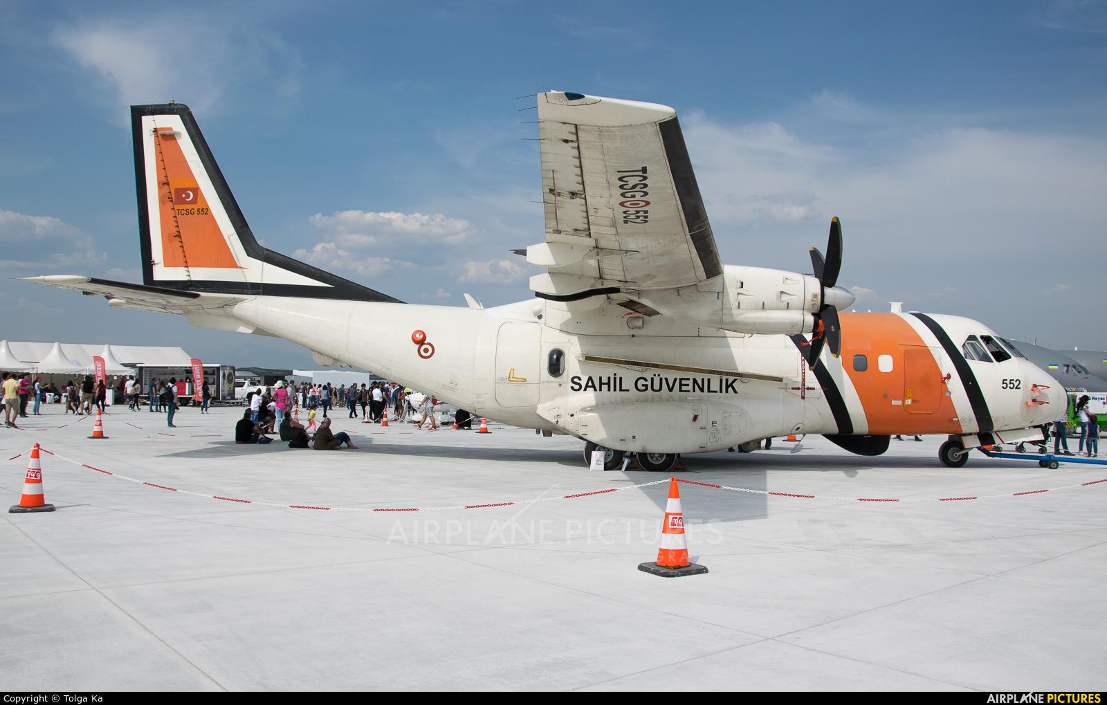 Turkey - Coast Guard TCSG-552 aircraft at Antalya