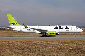 YL-CSK - Air Baltic Airbus A220-300