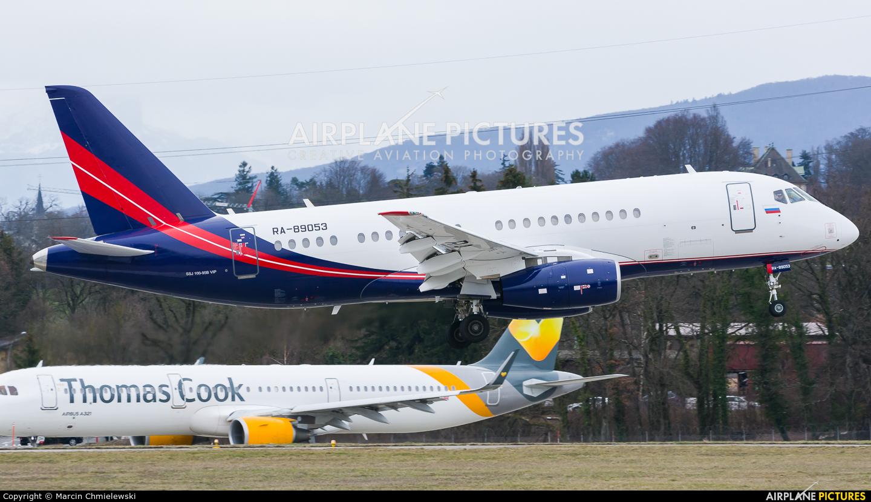 Rusjet Aircompany RA-89053 aircraft at Geneva Intl