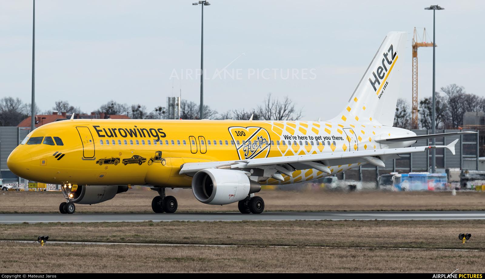 Eurowings D-ABDU aircraft at Wrocław - Copernicus