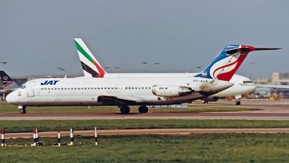 YU-AJK - JAT - Yugoslav Airlines McDonnell Douglas DC-9