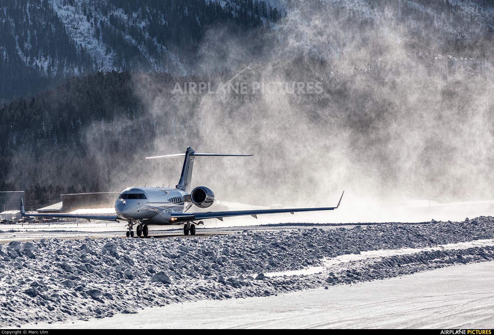 K5 Aviation D-ARKO aircraft at Samedan - Engadin