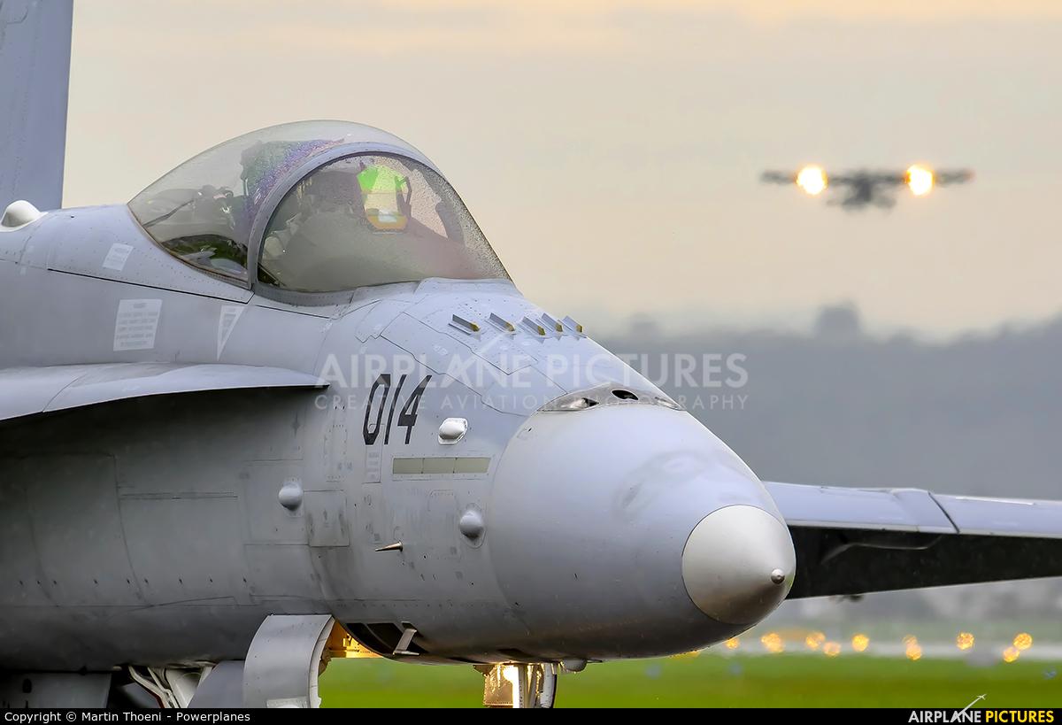 Switzerland - Air Force J-5014 aircraft at Emmen
