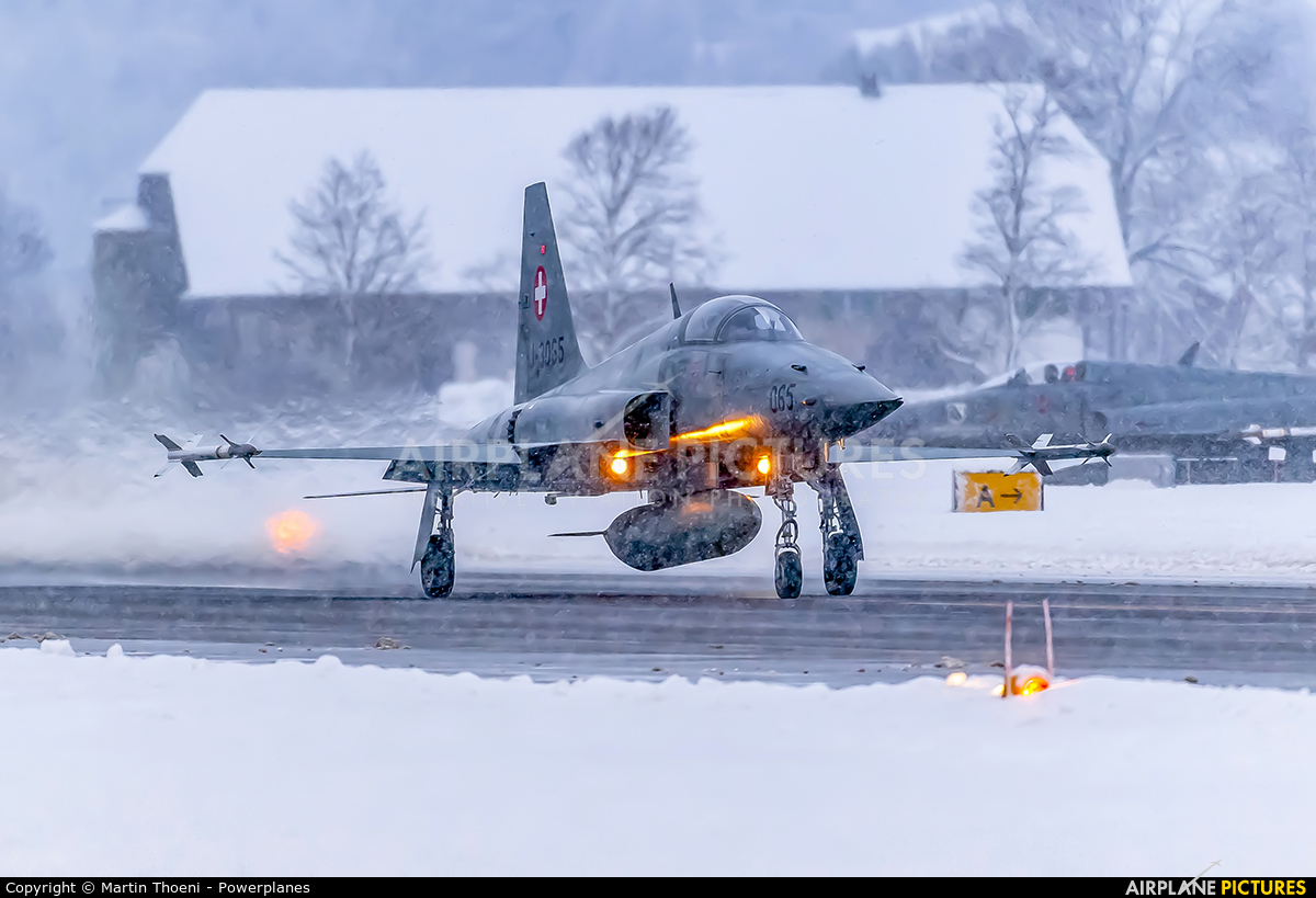 Switzerland - Air Force J-3065 aircraft at Meiringen