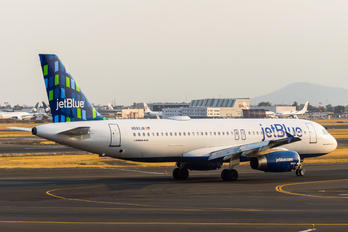 N592JB - JetBlue Airways Airbus A320