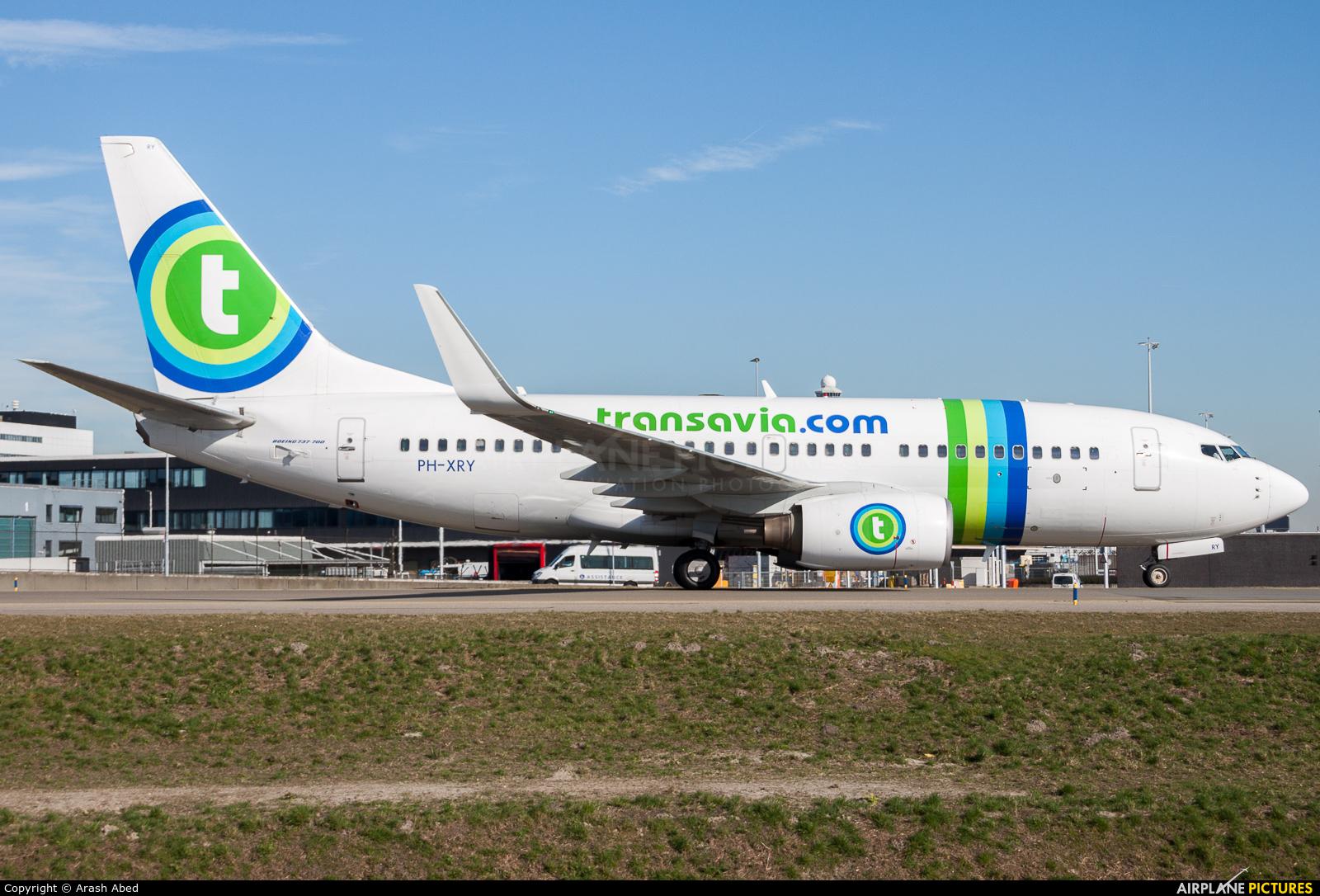 Transavia PH-XRY aircraft at Amsterdam - Schiphol