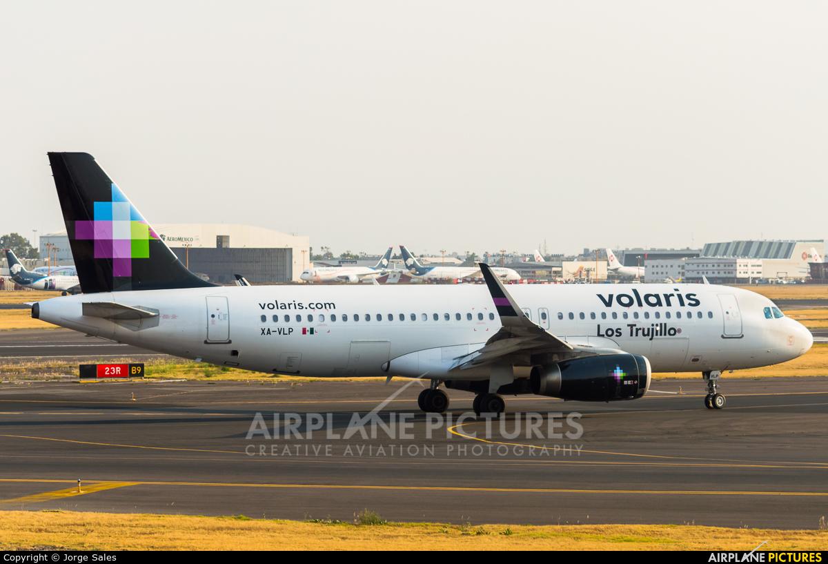 Volaris XA-VLP aircraft at Mexico City - Licenciado Benito Juarez Intl