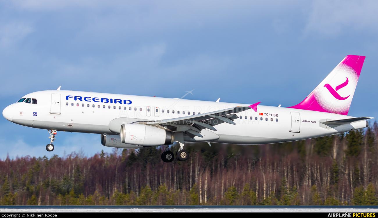 FreeBird Airlines TC-FBR aircraft at Helsinki - Vantaa