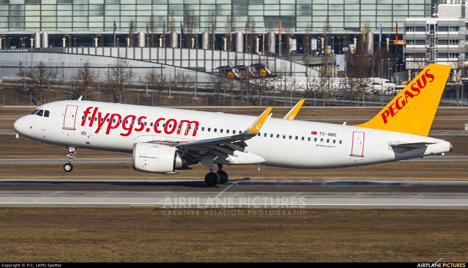 Pegasus TC-NBE aircraft at Munich