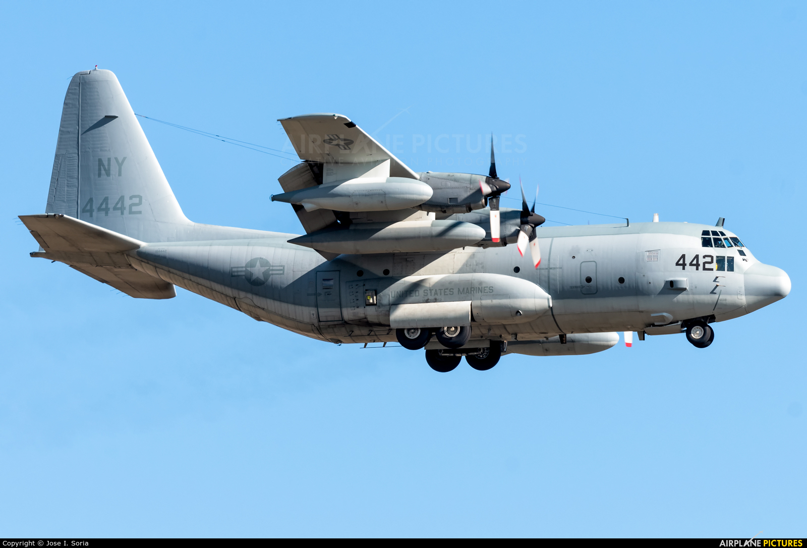 USA - Navy 164442 aircraft at Madrid - Torrejon