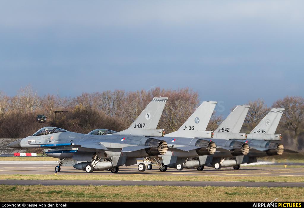 Netherlands - Air Force J-017 aircraft at Uden - Volkel
