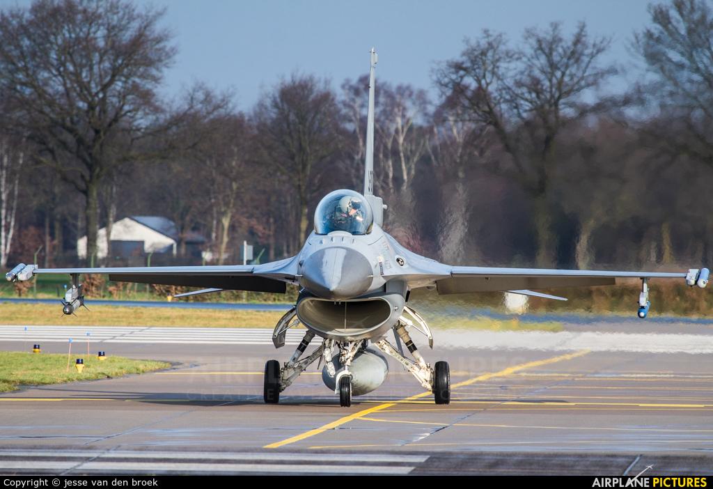 Netherlands - Air Force J-635 aircraft at Uden - Volkel