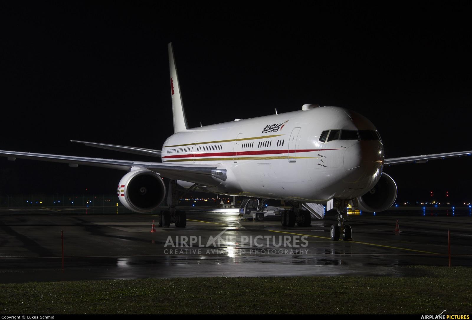 Bahrain Amiri Flight A9C-HMH aircraft at Zurich