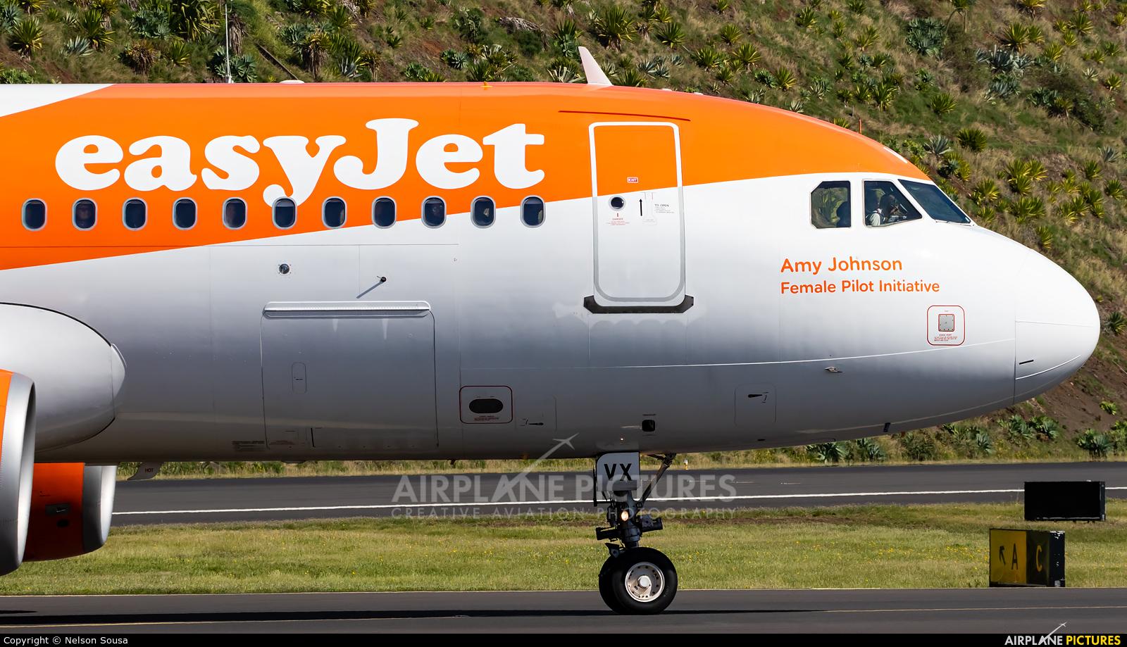 easyJet Europe OE-IVX aircraft at Madeira