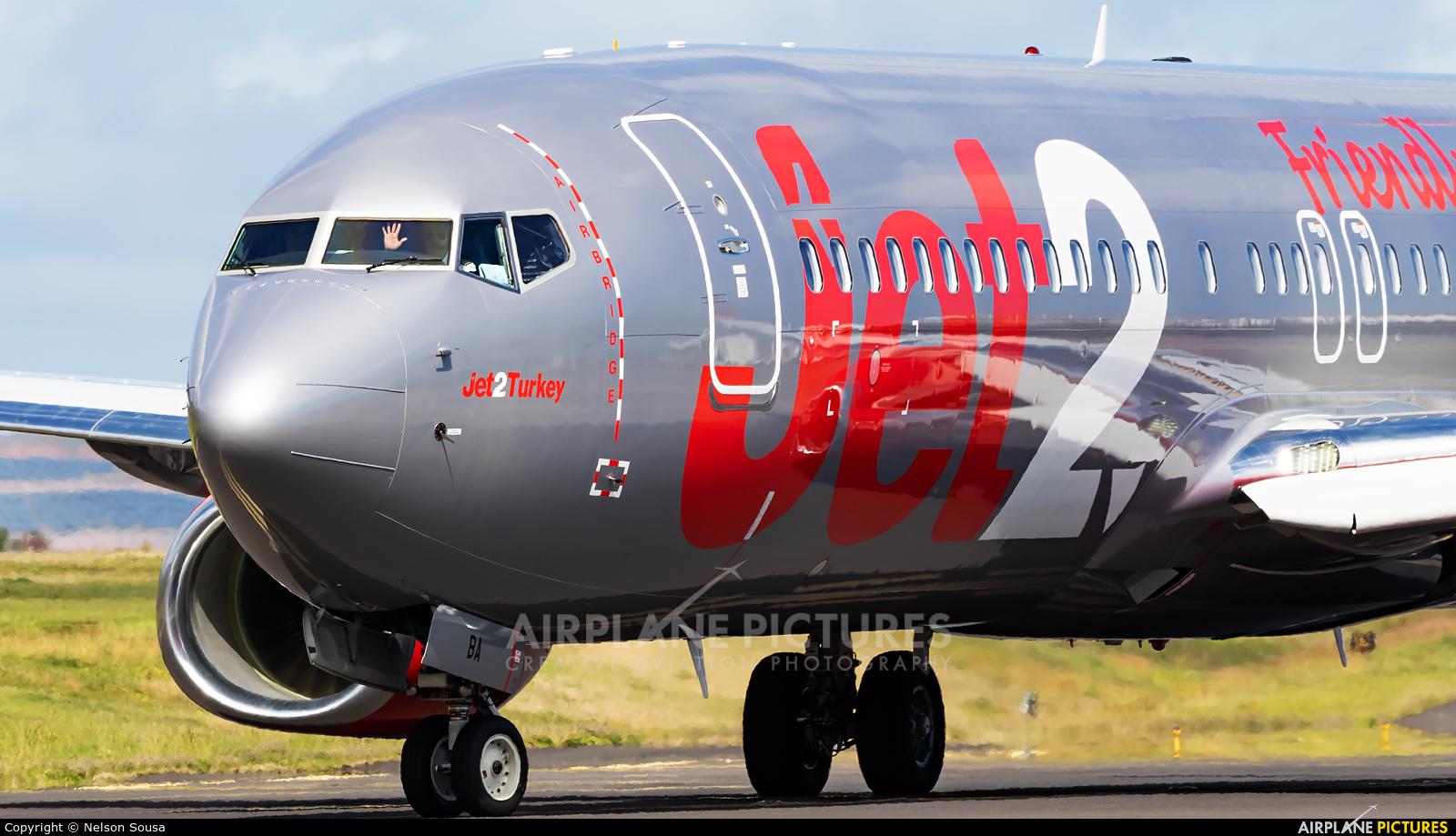 Jet2 G-JZBA aircraft at Madeira