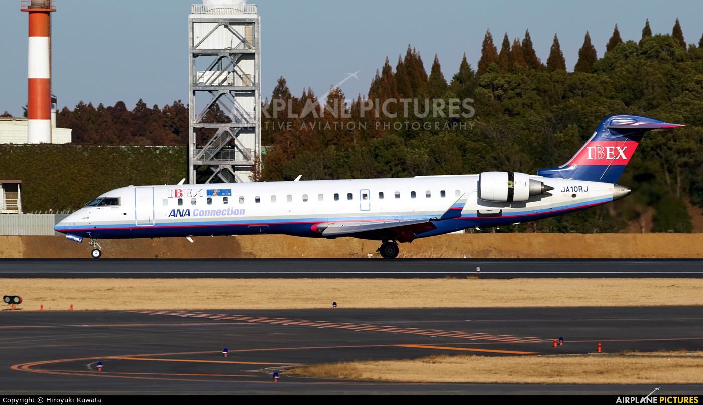 Ibex Airlines - ANA Connection JA10RJ aircraft at Tokyo - Narita Intl
