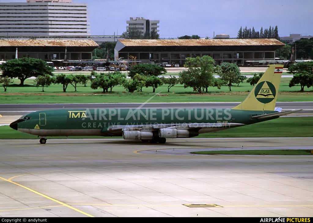TMA Cargo OD-AGP aircraft at Bangkok - Don Muang