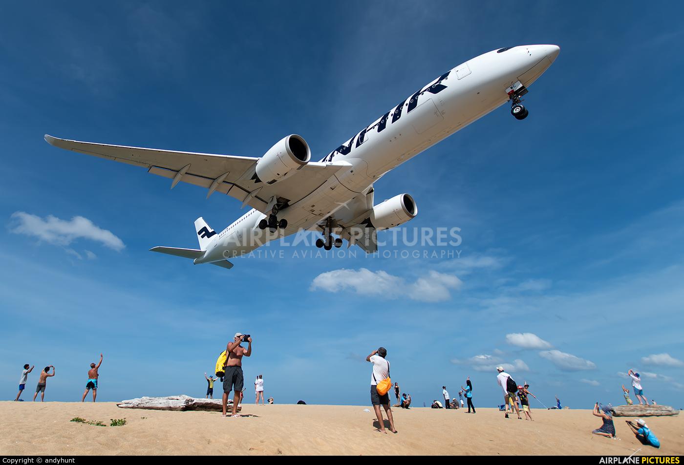 Finnair OH-LWC aircraft at Phuket