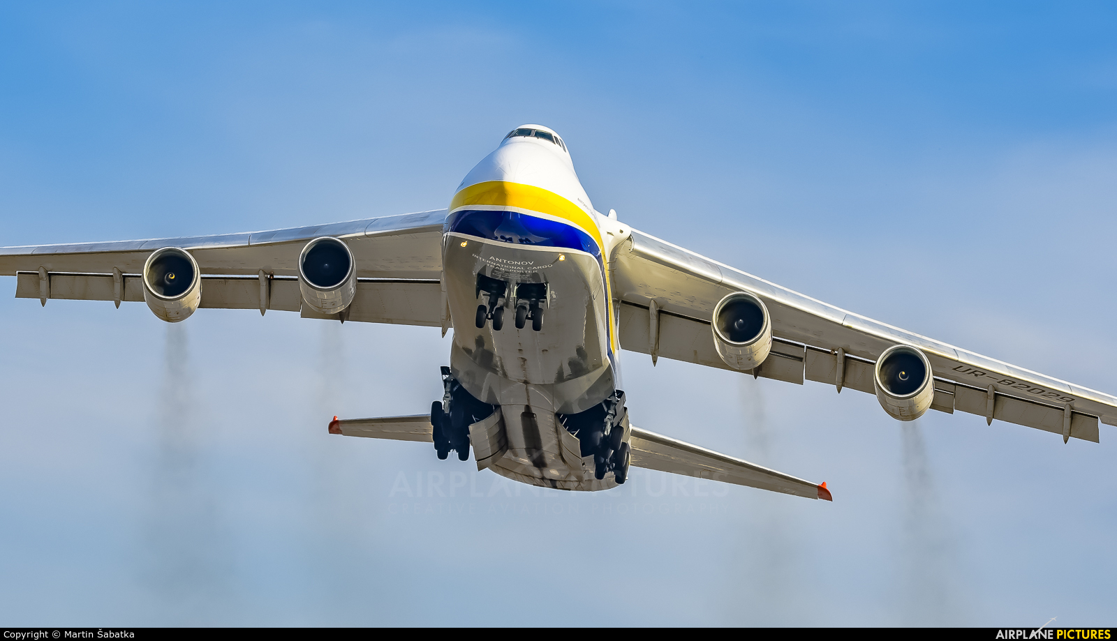 Antonov Airlines /  Design Bureau UR-82029 aircraft at Pardubice