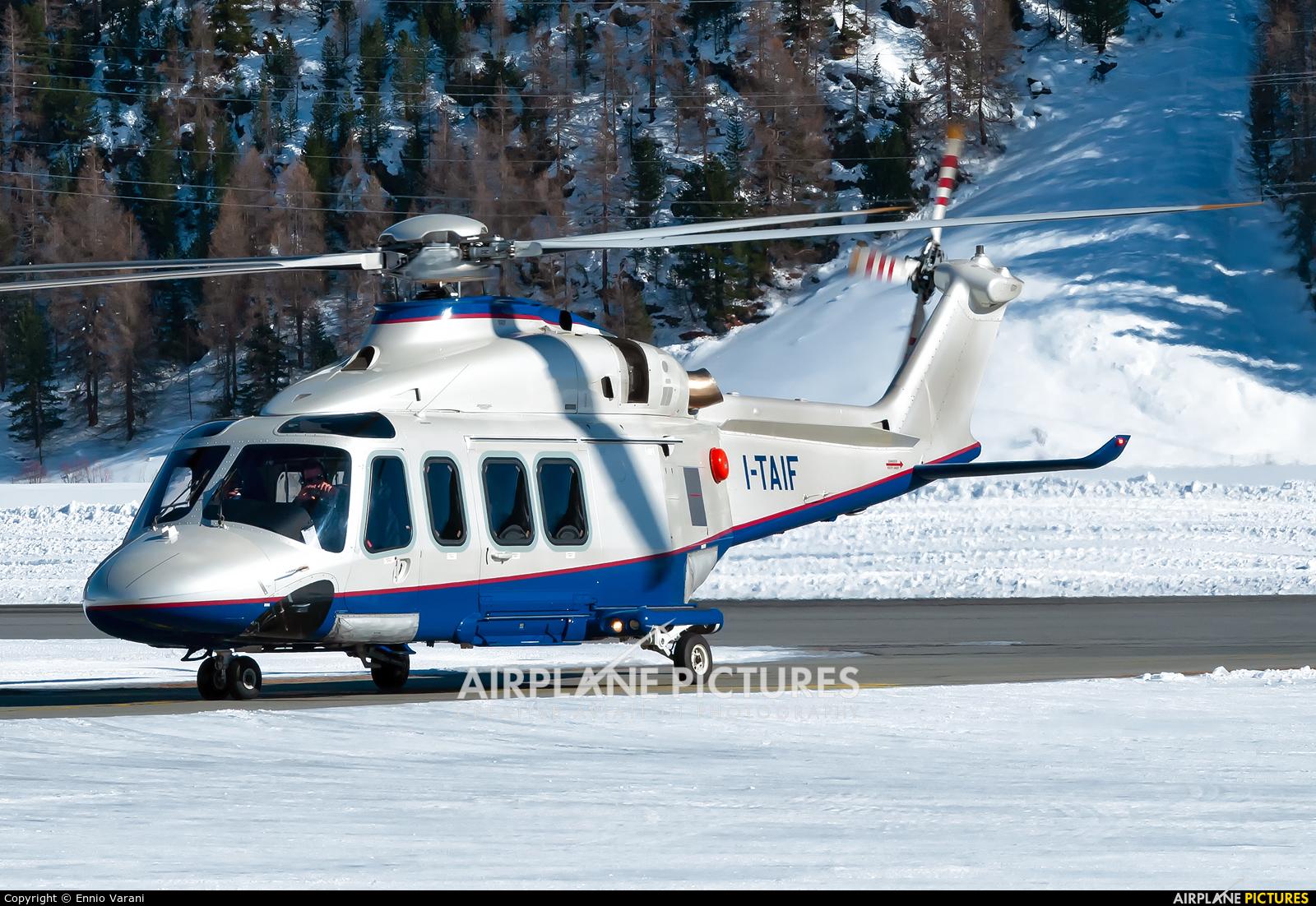Private I-TAIF aircraft at Samedan - Engadin