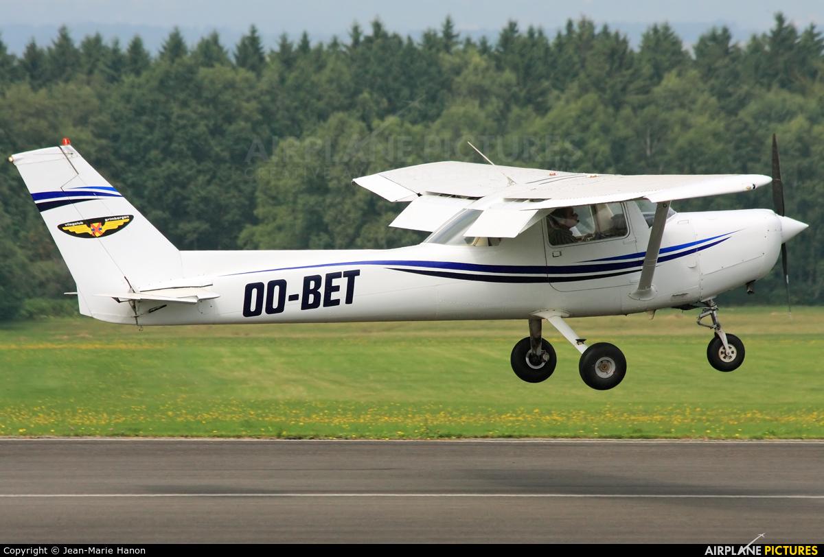 Aero Club Grimbergen OO-BET aircraft at Spa - La Sauveniere