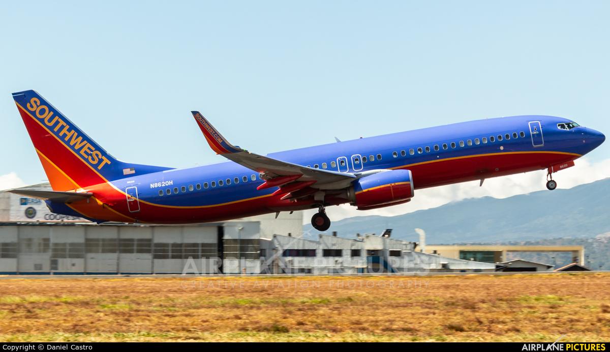 Southwest Airlines N8620H aircraft at San Jose - Juan Santamaría Intl