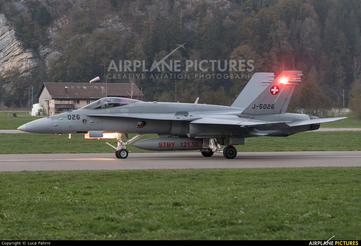 Switzerland - Air Force J-5026 aircraft at Meiringen
