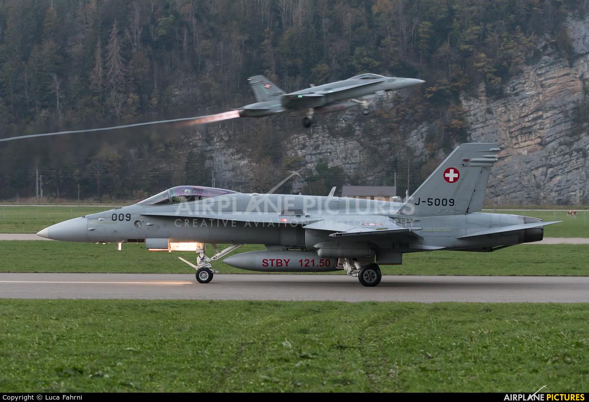 Switzerland - Air Force J-5009 aircraft at Meiringen
