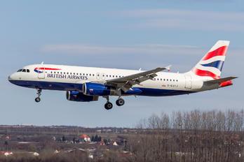 G-EUYJ - British Airways Airbus A320