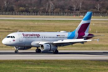 D-AGWX - Eurowings Airbus A319