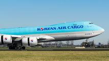 HL7629 - Korean Air Cargo Boeing 747-8F aircraft