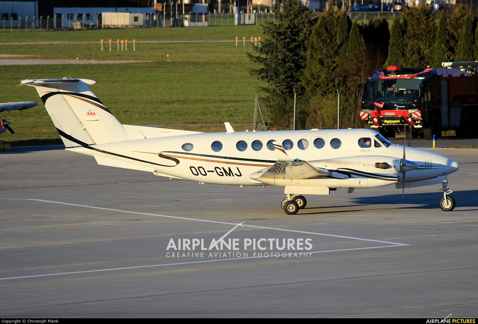 Air Service Liege OO-GMJ aircraft at Innsbruck