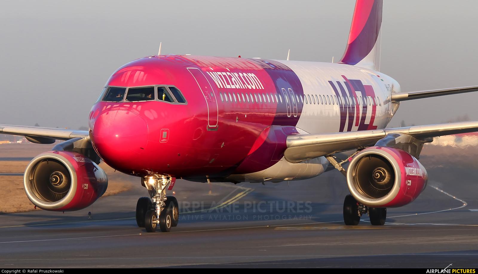 Wizz Air HA-LYE aircraft at Warsaw - Frederic Chopin