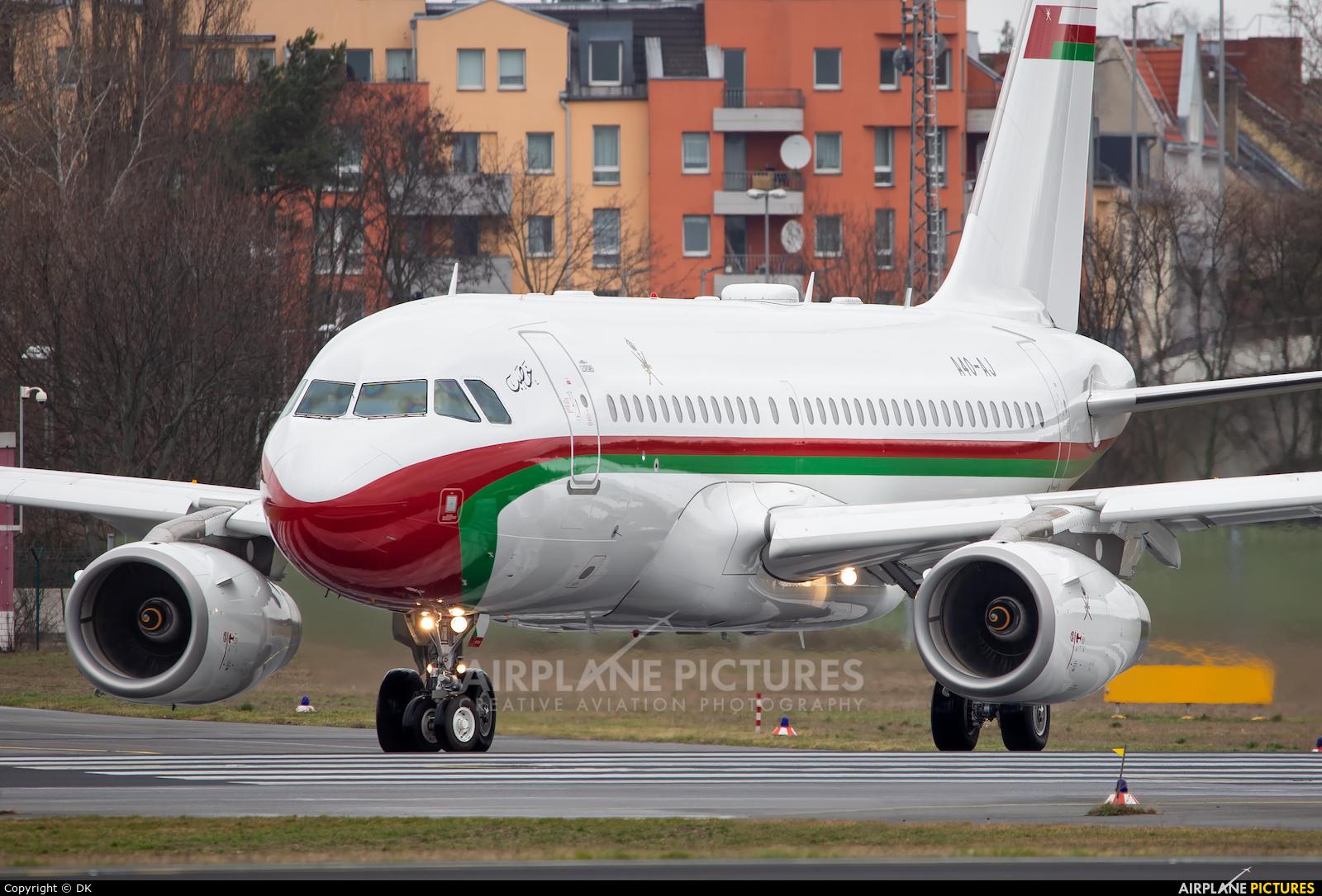 Oman - Royal Flight A4O-AJ aircraft at Berlin - Tegel