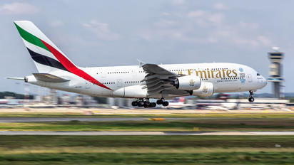 A6-EEF - Emirates Airlines Airbus A380