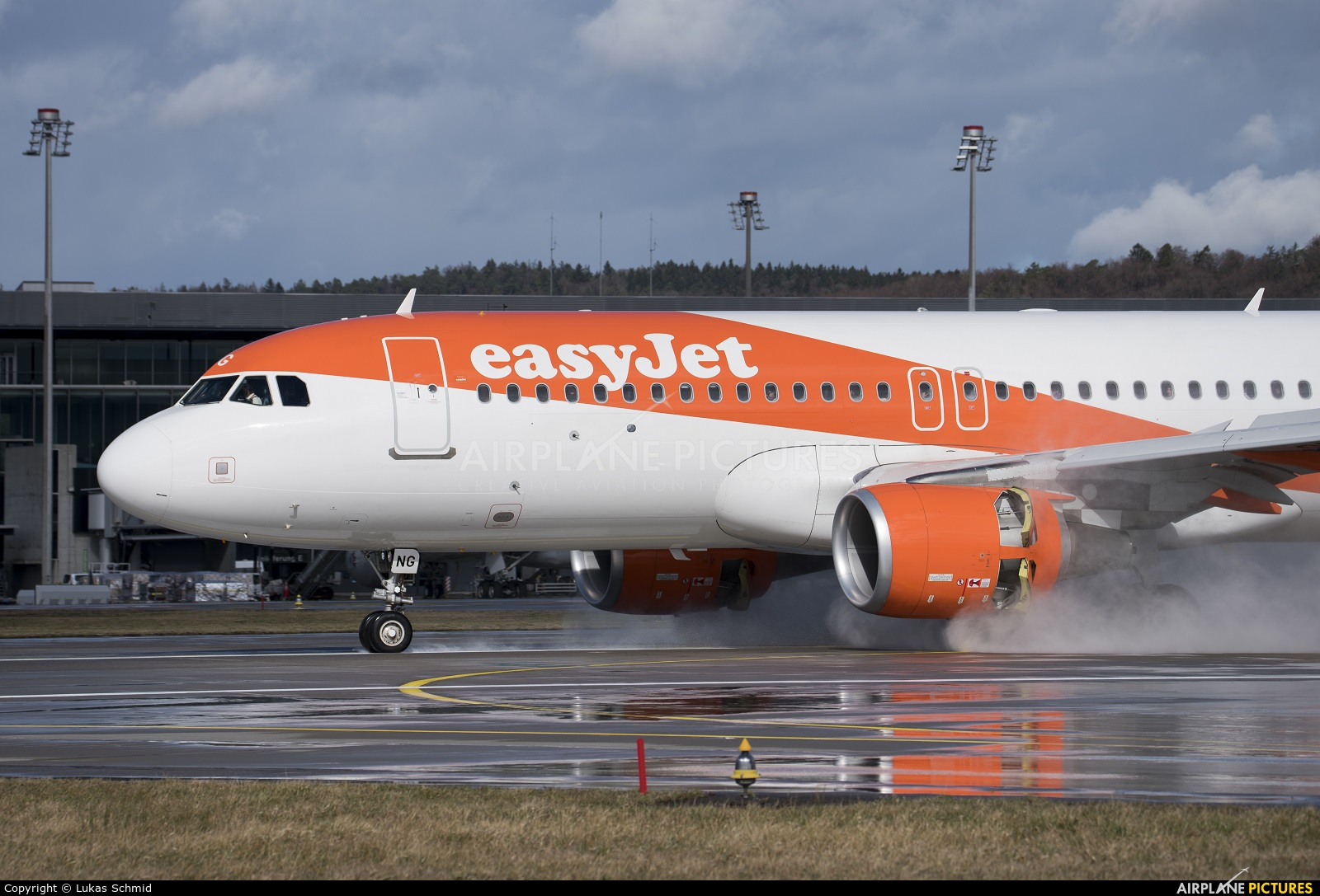 easyJet Europe OE-ING aircraft at Zurich