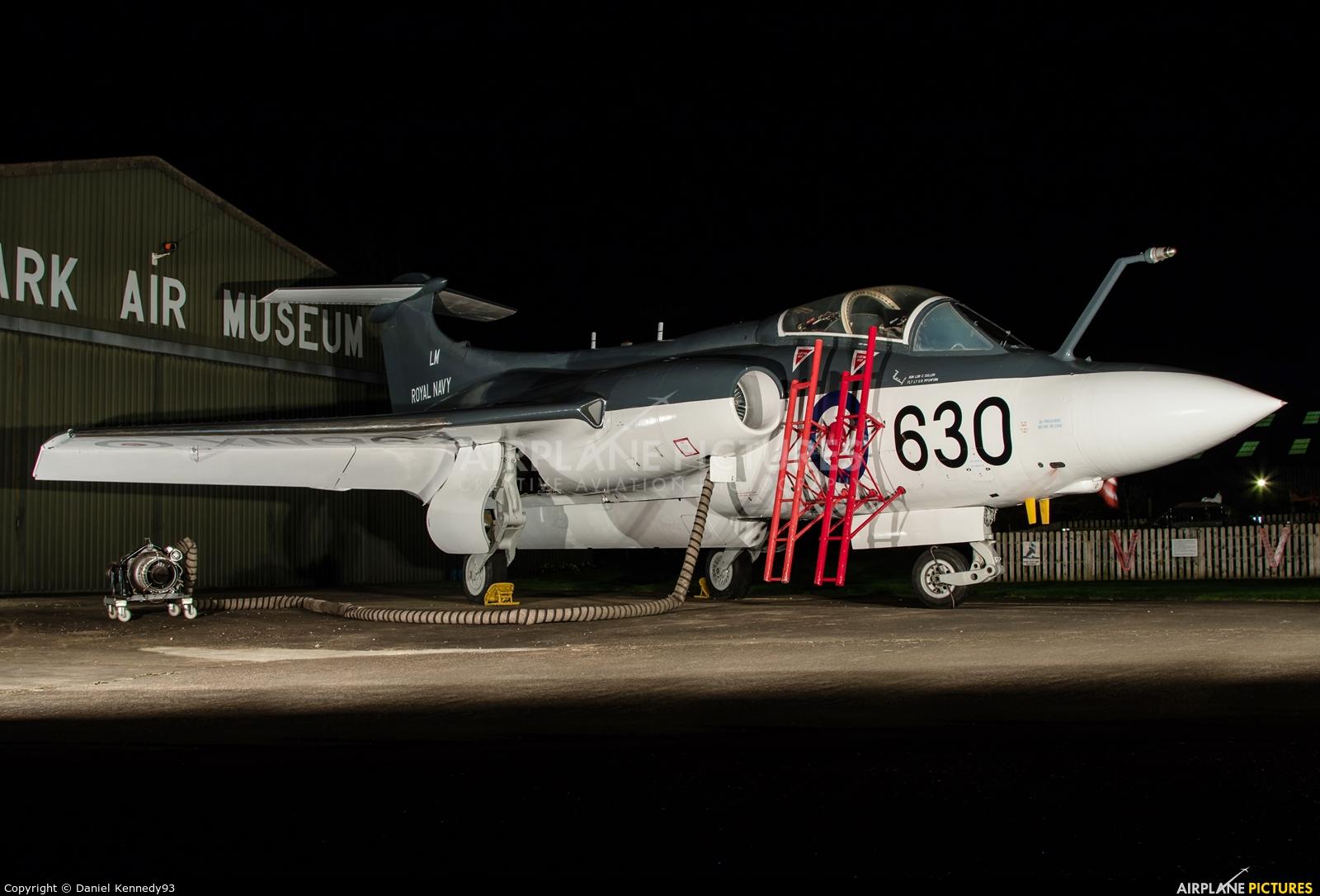 Royal Navy XN964 aircraft at Newark Air Museum