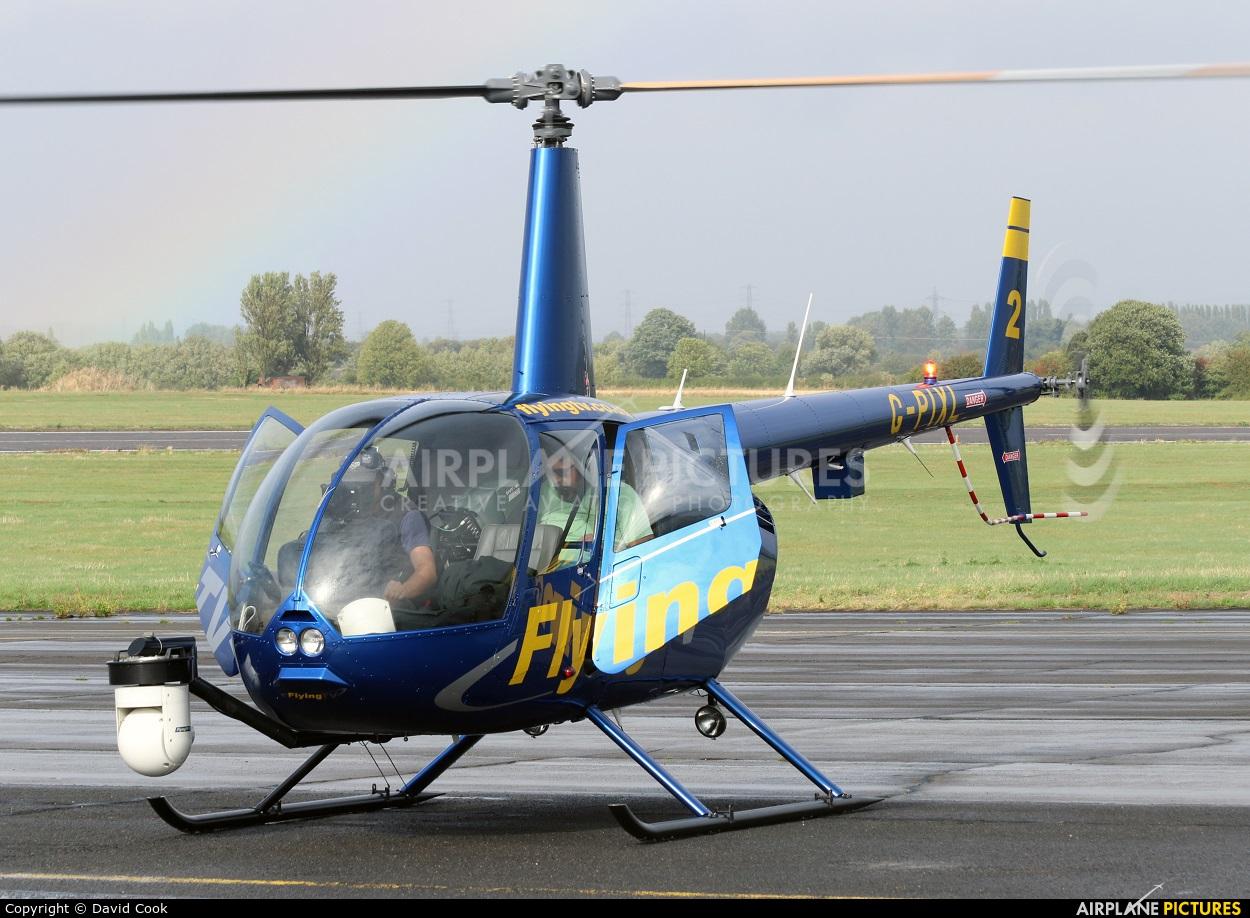 Flying TV G-PIXL aircraft at Tollerton