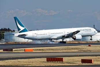 B-HNE - Cathay Pacific Boeing 777-300ER