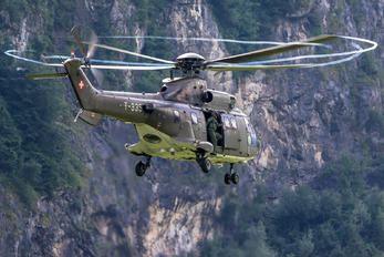 T-335 - Switzerland - Air Force Aerospatiale AS532 Cougar