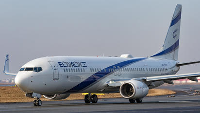 4X-EHH - El Al Israel Airlines Boeing 737-900