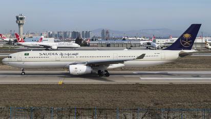 HZ-AQ15 - Saudi Arabian Airlines Airbus A330-300