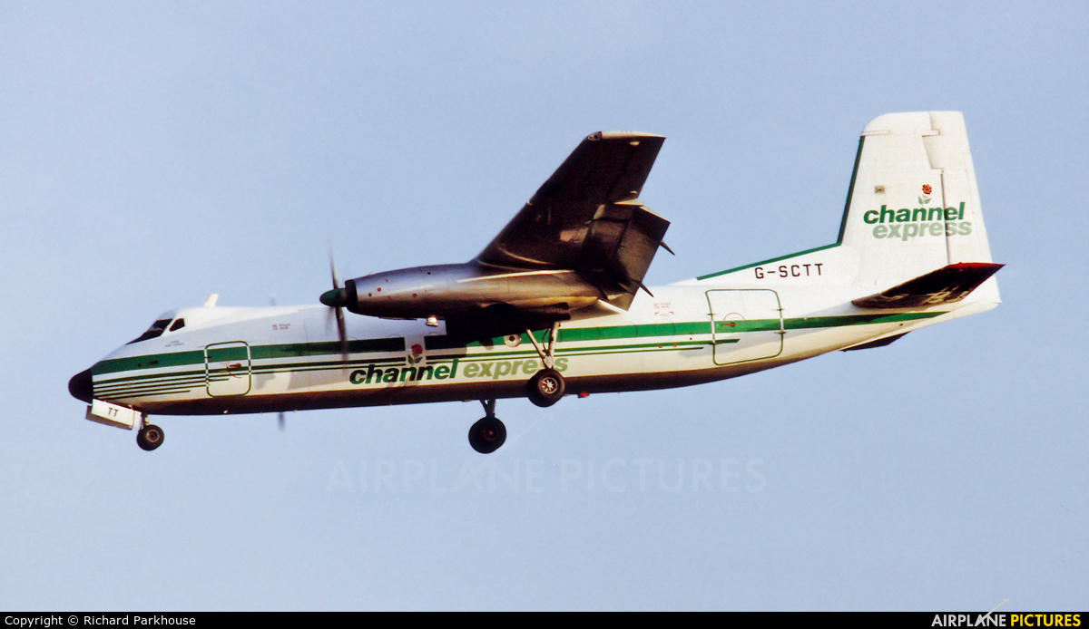 Channel Express G-SCTT aircraft at London - Heathrow